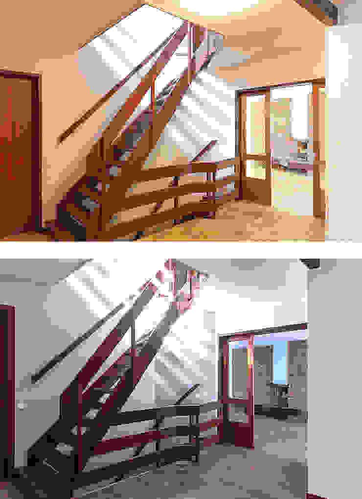 Entree Moderne gangen, hallen & trappenhuizen van Regina Dijkstra Design Modern