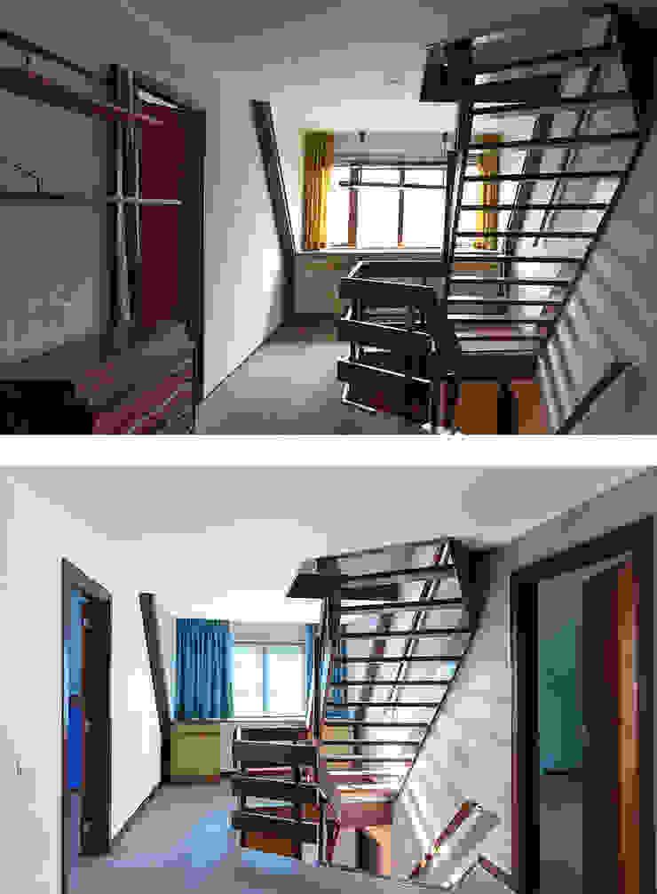 Overloop Moderne gangen, hallen & trappenhuizen van Regina Dijkstra Design Modern