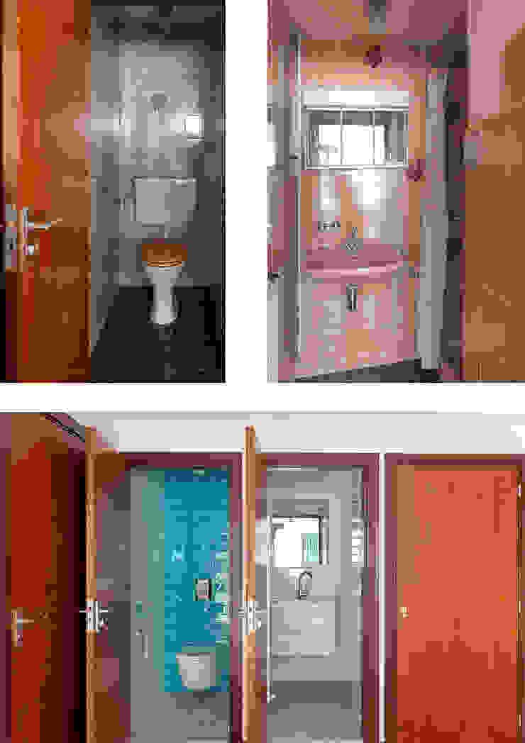 Kleine badkamer(s) Moderne badkamers van Regina Dijkstra Design Modern