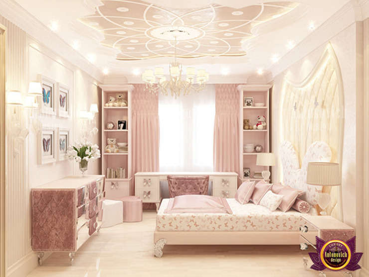 Terrific Royalty Bedroom Interior by Luxury Antonovich Design