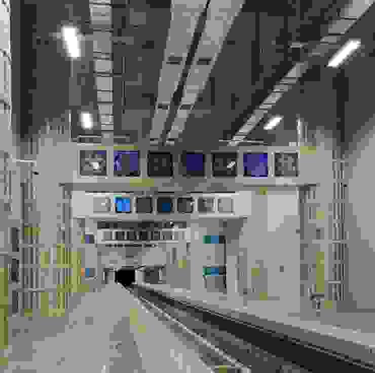 Aeropuertos de estilo industrial de DESTONE YAPI MALZEMELERİ SAN. TİC. LTD. ŞTİ. Industrial