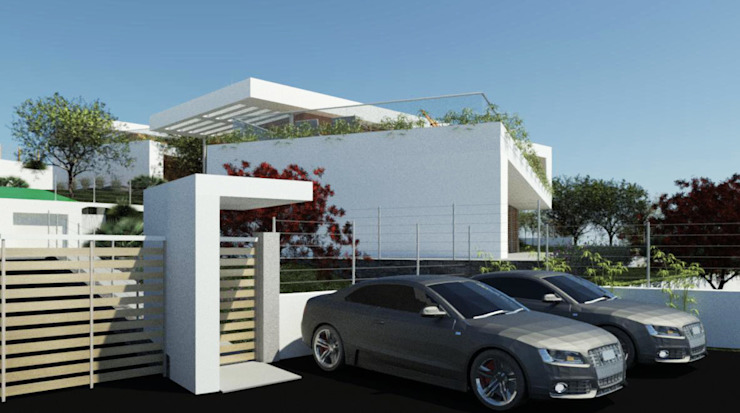 Casas de estilo minimalista de Ing. Massimiliano Lusetti Minimalista