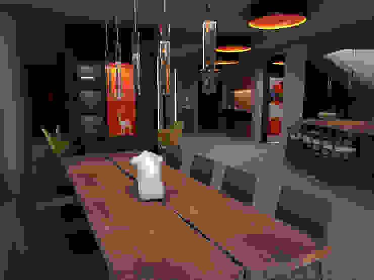 Minimalist living room by Ing. Massimiliano Lusetti Minimalist