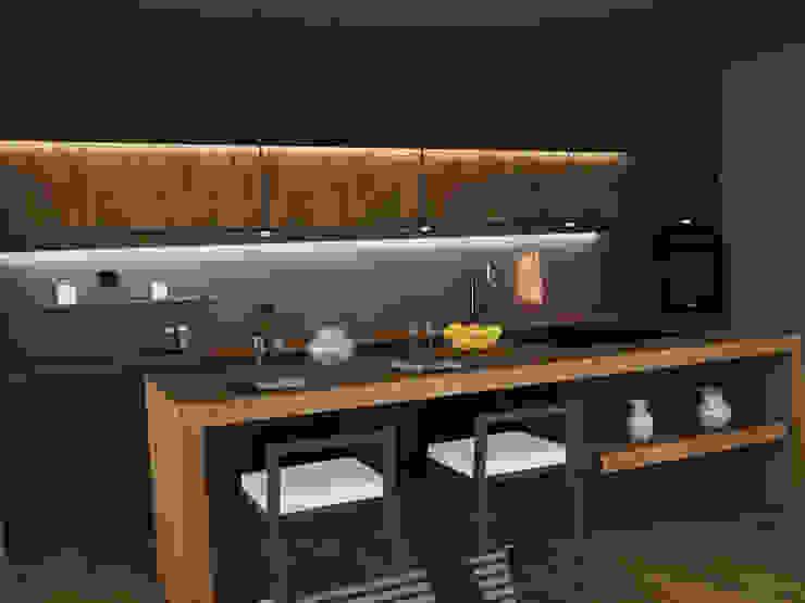 Minimalist kitchen by Ing. Massimiliano Lusetti Minimalist