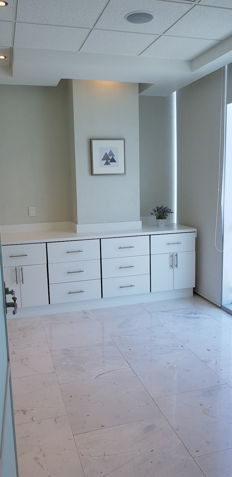 Bureau minimaliste par Arqca Minimaliste