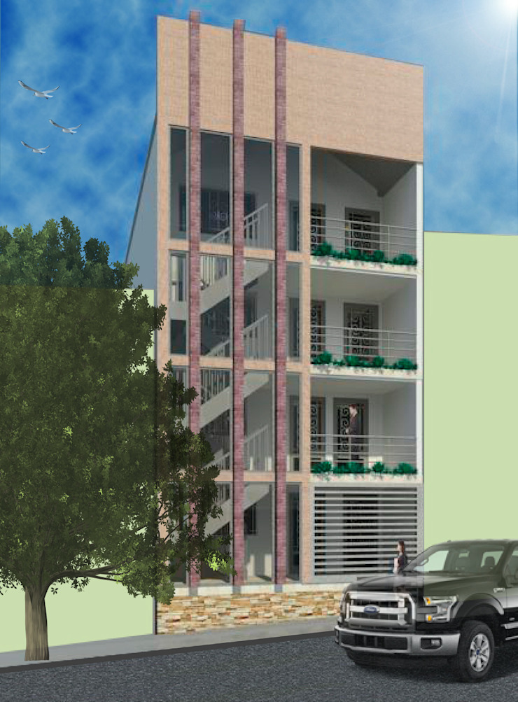 Diseño Edificio en la estrella, Antioquia Casas modernas de estudio artico Moderno