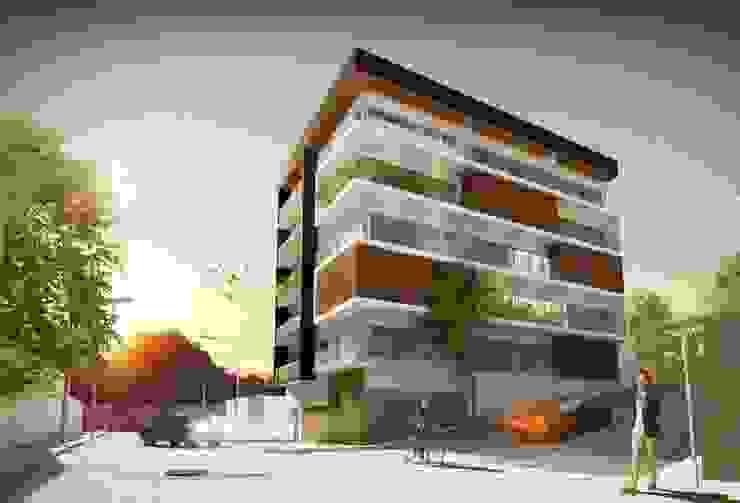 PROPUESTA DE FACHADA PRINCIPAL Prototype studio Casas modernas