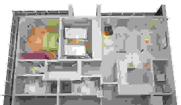 DEPARTAMENTO TIPO Prototype studio Salones modernos