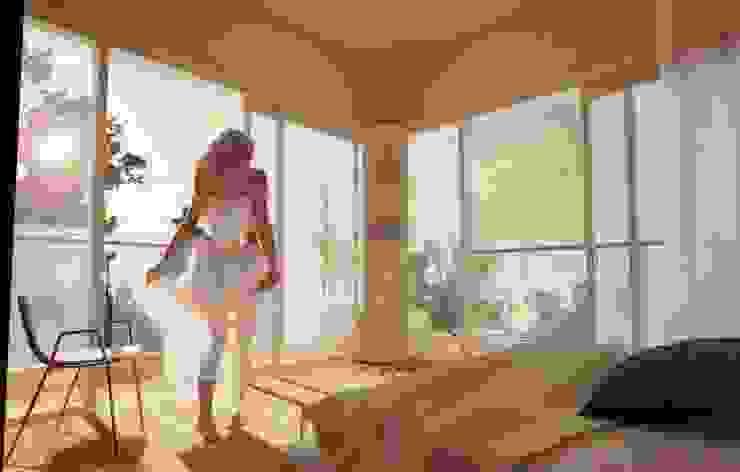 PROPUESTA RECAMARA PRINCIPAL Prototype studio Dormitorios modernos