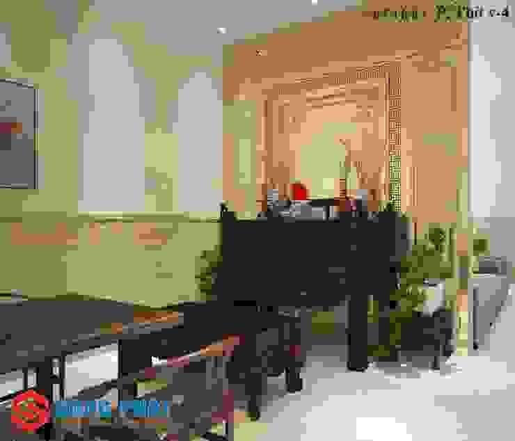 Modern living room by Công ty TNHH TK XD Song Phát Modern Marble