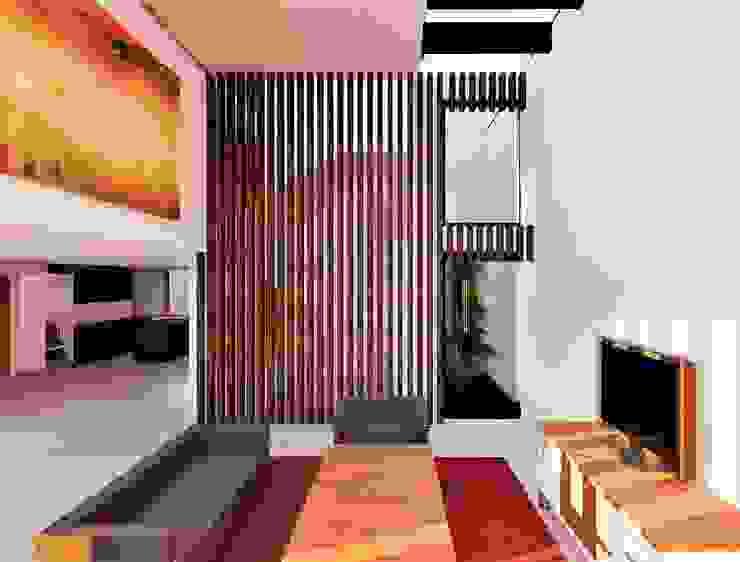 Arqmando taller de arquitectura Modern living room