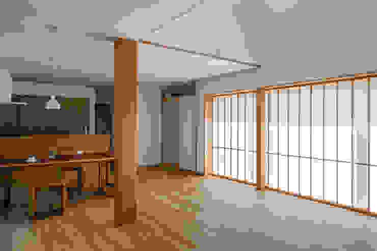 Salon asiatique par 内田雄介設計室 Asiatique