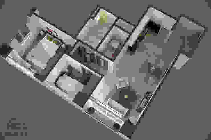 Mẫu dự án thiết kế nội thất căn hộ chung cư Phú An Khánh bởi Hoàn Thành Group