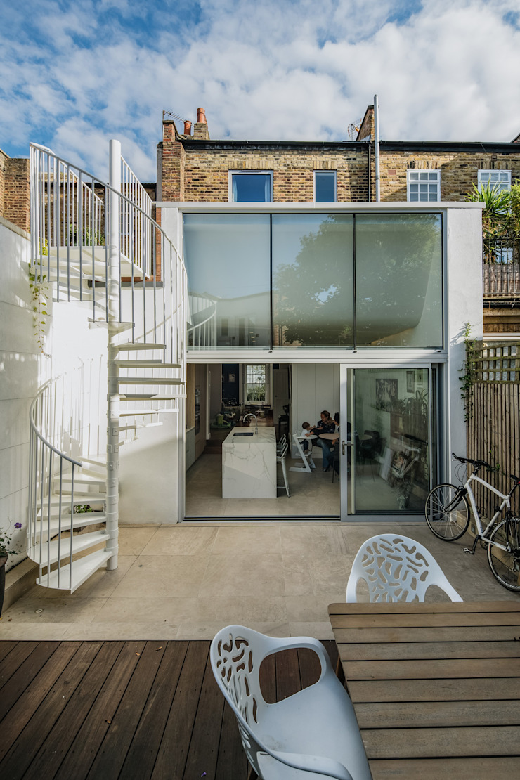 De Beauvoir House Neil Dusheiko Architects Maisons modernes