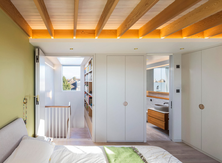 Dusheiko House Neil Dusheiko Architects Спальня в стиле модерн