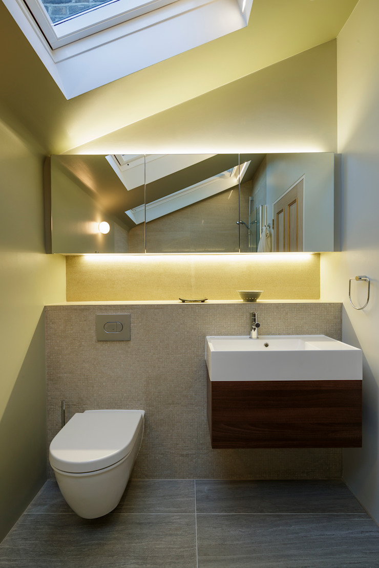 Gallery House Neil Dusheiko Architects Modern bathroom