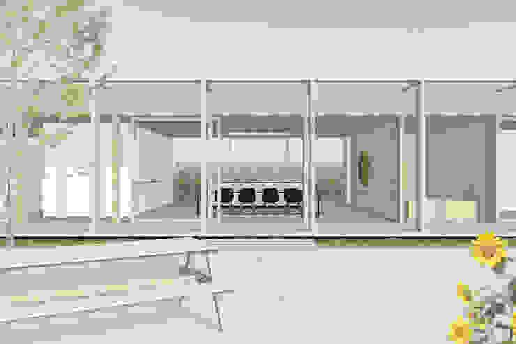 Modern Dining Room by Modle Woningen Modern Wood Wood effect