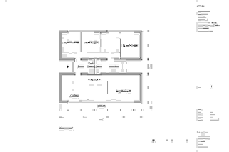 Modle woningen - Huis H: modern  door Modle Woningen, Modern