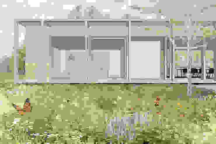 Modle woningen - energieneutraal wonen van Modle Woningen Modern Hout Hout