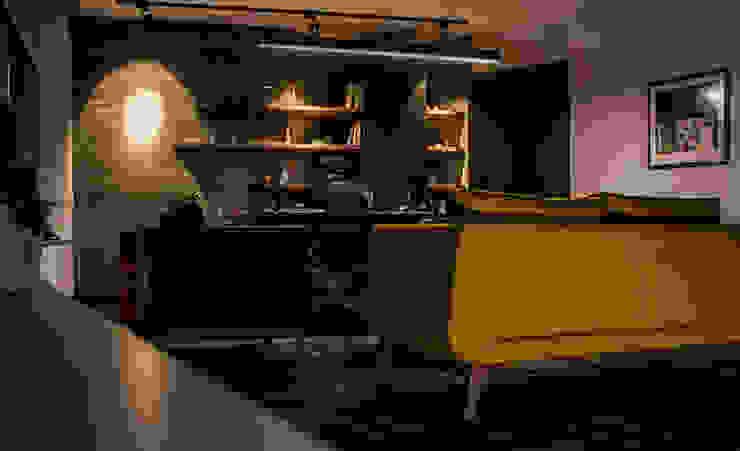 Tasarım + Uygulamalar Endüstriyel Şarap Mahzeni Loft House Tasarım Ofisi Endüstriyel