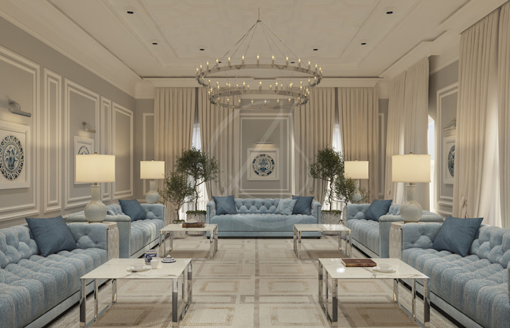 Classic House Interior Design by Comelite Architecture, Structure and Interior Design Classic