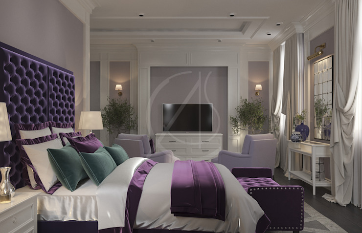 Classic House Interior Design Classic style bedroom by Comelite Architecture, Structure and Interior Design Classic