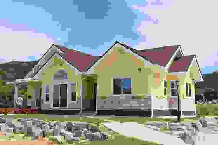 나무집협동조합 Rustic style house