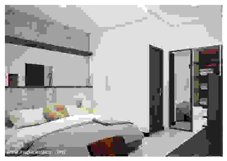 CB 02 Apartment Bandung:  Kamar Tidur by Inspace Studio