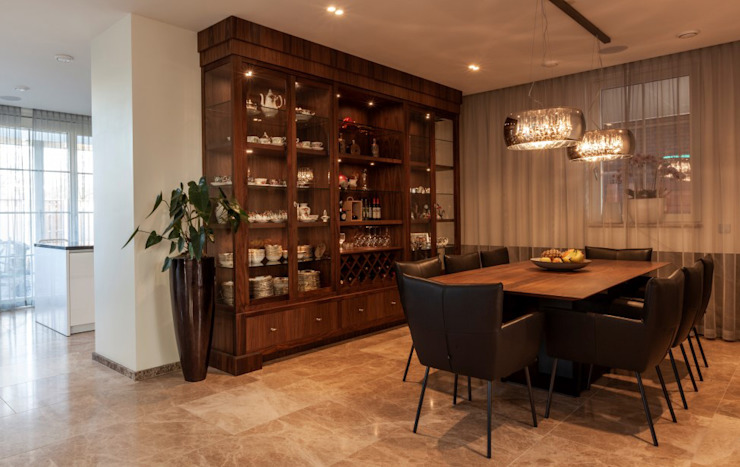 Dining room by Dineke Dijk Architecten,