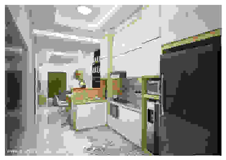 Dapur dalam : Dapur built in oleh Inspace Studio, Minimalis