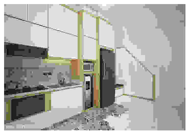 Dapur - perspektif lain : Dapur built in oleh Inspace Studio, Minimalis
