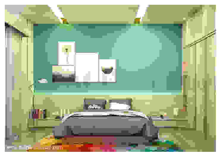 Kamar tidur Kamar Tidur Minimalis Oleh Inspace Studio Minimalis
