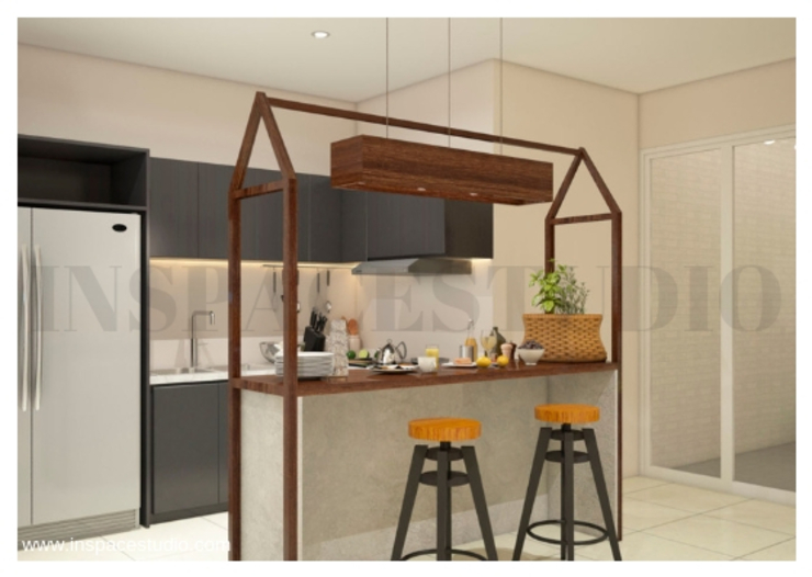GA 07 Apartment Oleh Inspace Studio Modern