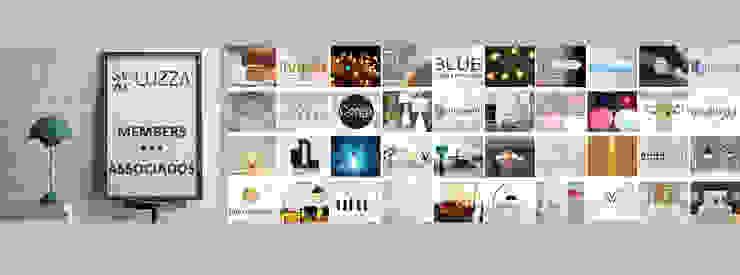 LUZZA Members por LUZZA by AIPI - Portuguese Lighting Association Moderno
