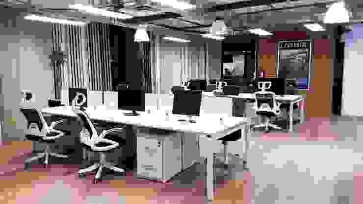 Oficinas Corporativas Seppelec México Estudios y despachos industriales de 2M arquitectos Industrial