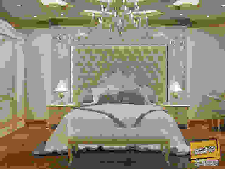 غرفة نوم كلاسيكية من Archeffect كلاسيكي