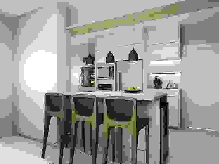 Andrea Girotto Arquitetura + Engenharia Small kitchens