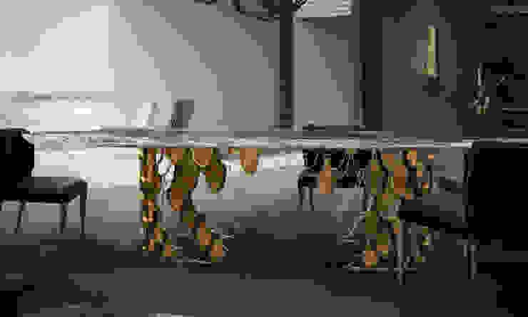 BRABBU客廳布藝沙發意大利進口沙發 北京恒邦信大国际贸易有限公司 客廳邊桌與托盤