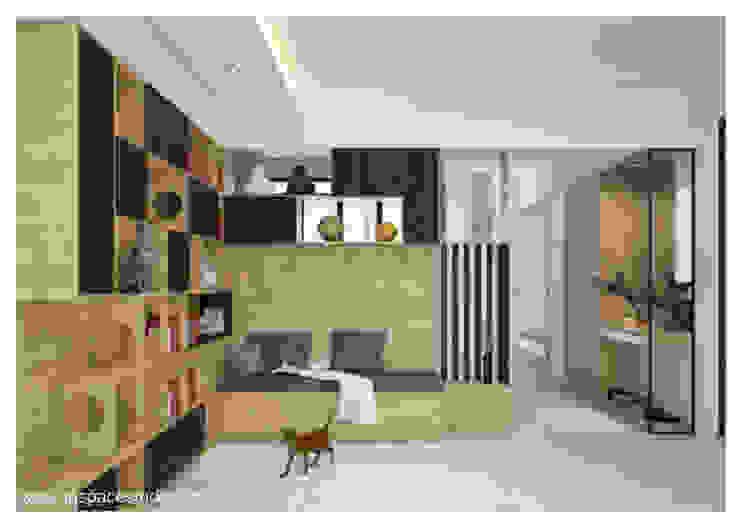 Area Pintu Masuk :  Koridor dan lorong by Inspace Studio