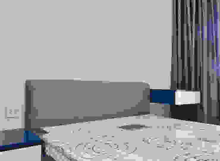 CĂN HỘ NHÀ MR CHÍNH TẠI NOVALAND SUNRISE Phòng ngủ phong cách hiện đại bởi VAN NAM FURNITURE & INTERIOR DECORATION CO., LTD. Hiện đại