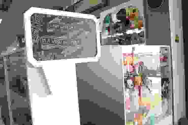 Borma Fancy Kantor & Toko Minimalis Oleh POWL Studio Minimalis
