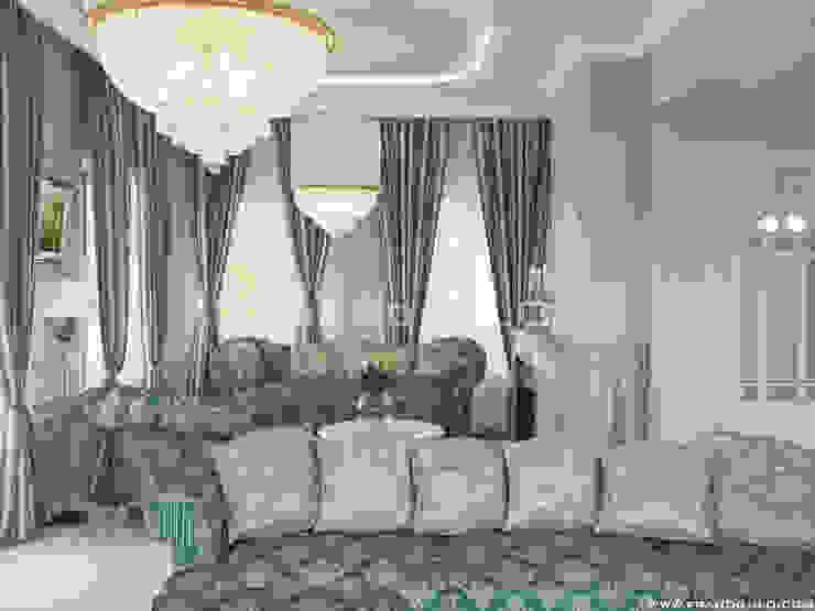 Salas de estilo clásico de Frandgulo Clásico