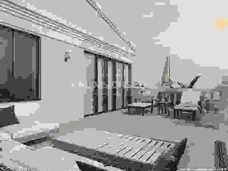 Balcones y terrazas de estilo clásico de Frandgulo Clásico