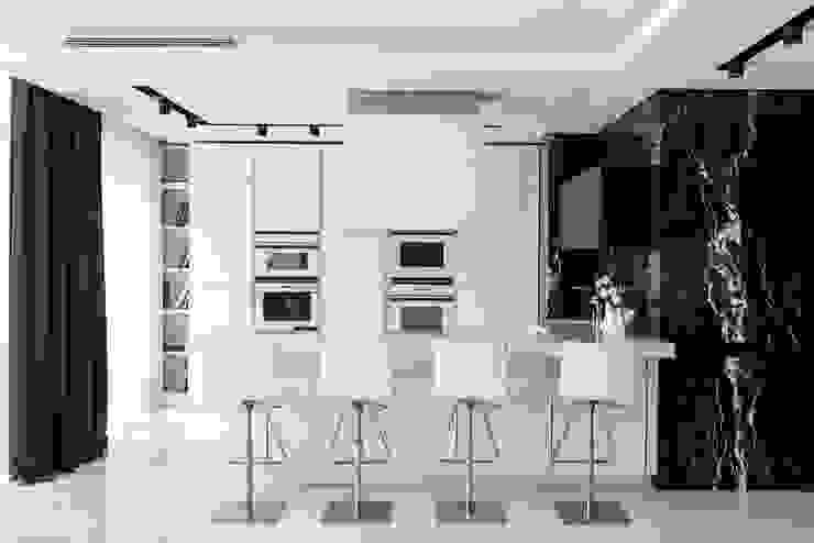 Sala da pranzo moderna di Geometrix Design Moderno