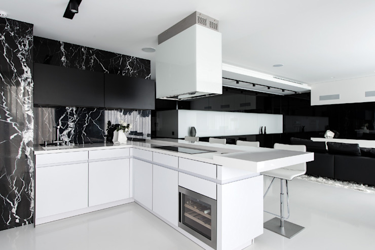 Modern kitchen by Geometrix Design Modern