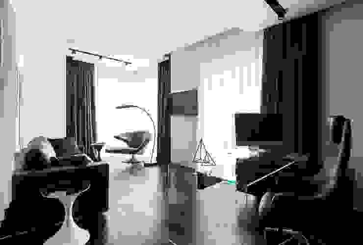 Modern living room by Geometrix Design Modern