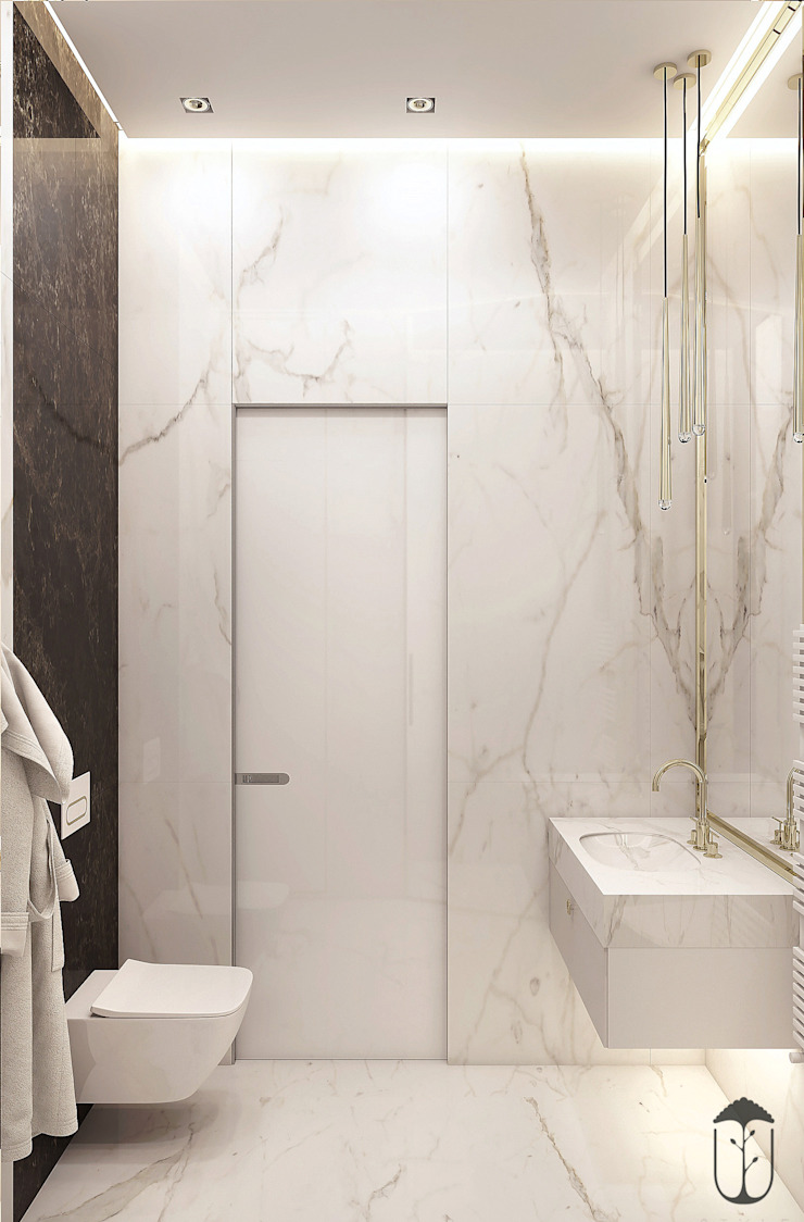 Modern style bathrooms by U-Style design studio Modern