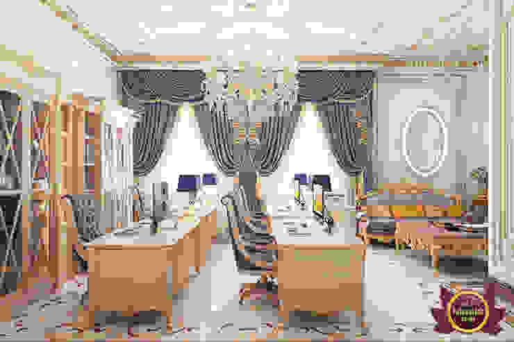 Incredible Study Room Design by Luxury Antonovich Design