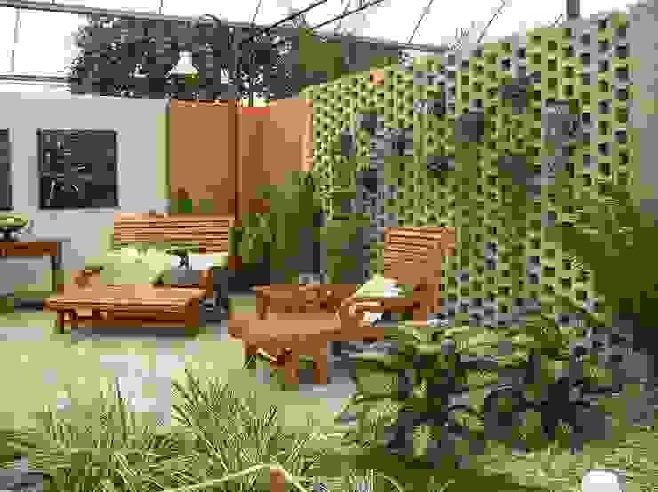 Terrazas: Terrazas de estilo  por Materia Viva S.A. de C.V.,