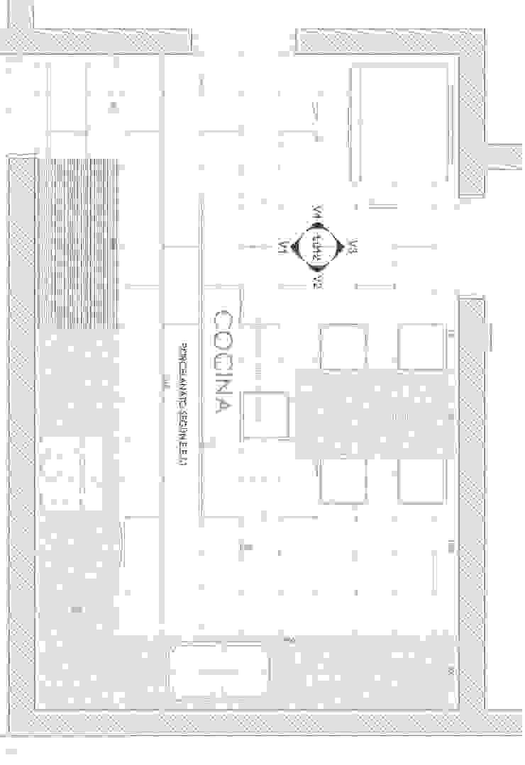 planta de SIMPLEMENTE AMBIENTE mobiliarios hogar y oficinas santiago Ecléctico